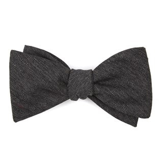 Brewhouse Herringbone Brown Bow Tie