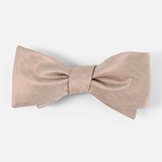Mumu Weddings - Desert Solid Dune Bow Tie