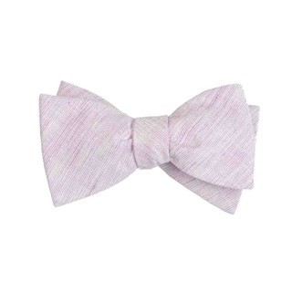 Serenity Solid Lavender Bow Tie