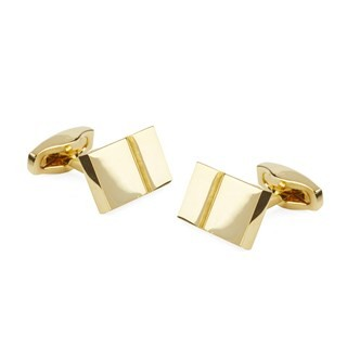 Bricked Gold Cufflinks