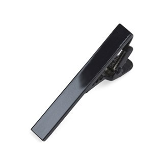 Metallic Color Black Tie Bar