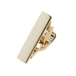 Gold Shot Tie Bar