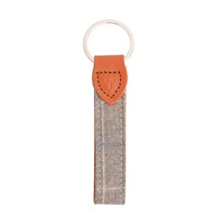 Grey Barberis Keychain