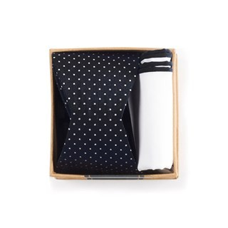 Black Bow Tie Box Gift Set