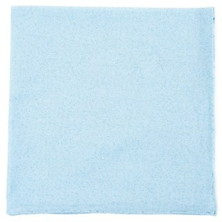 Cotton Tango Light Blue Pocket Square