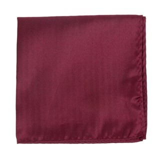 Mumu Weddings - Desert Solid Merlot Pocket Square