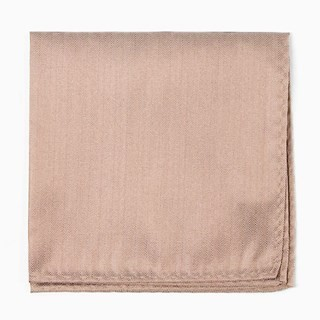 Mumu Weddings - Desert Solid Dune Pocket Square