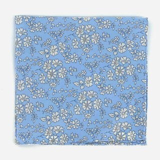 Liberty Capel Light Blue Pocket Square