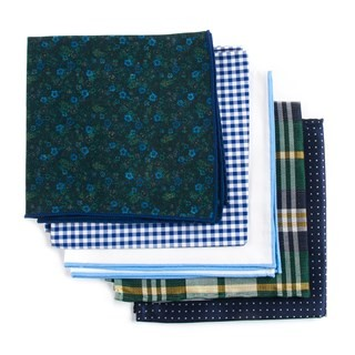 Trendy Green Pack Pocket Square