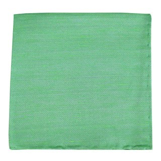 Sand Wash Solid Apple Green Pocket Square