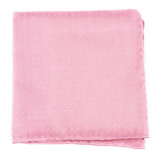 Destination Dots Pink Pocket Square