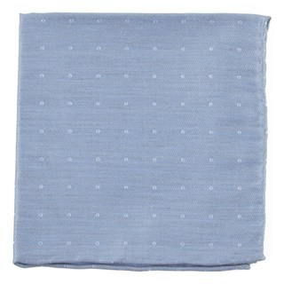 Bulletin Dot Slate Blue Pocket Square