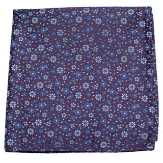 Milligan Flowers Light Purple Pocket Square