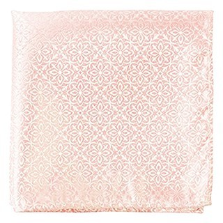 Opulent Light Pink Pocket Square
