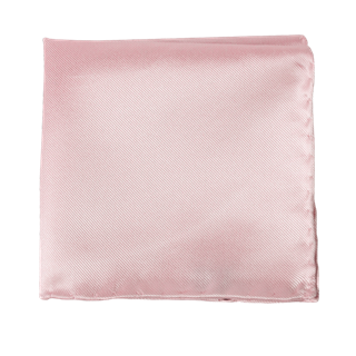 Solid Twill Blush Pink Pocket Square