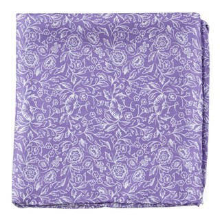 Bracken Blossom Wisteria Pocket Square