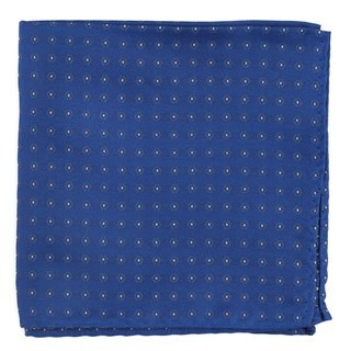 Sparkler Medallions Royal Blue Pocket Square