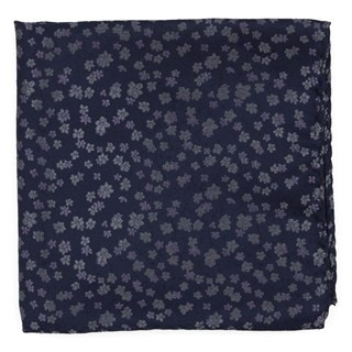 Free Fall Floral Lavender Pocket Square