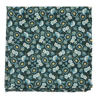 Flower City Hunter Pocket Square