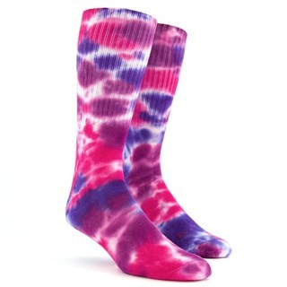 Day Dreamer Purple Dress Socks