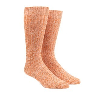 Camp Tangerine Dress Socks