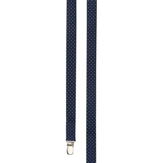 Mini Dots Navy Suspender