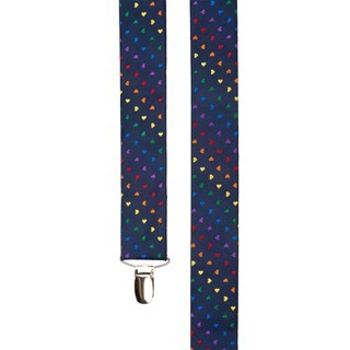 The Equality Navy Suspender
