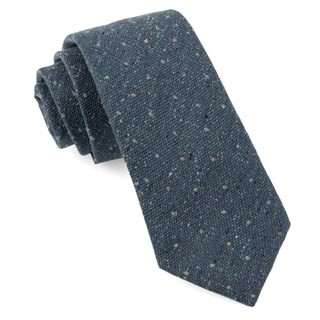Redwood Dot Slate Blue Tie