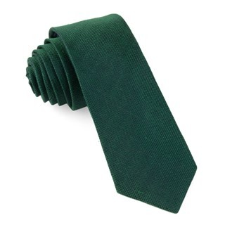 Smith Solid Emerald Green Tie