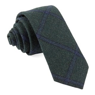 Barberis Wool Scoldo Green Tie