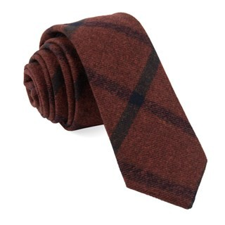 Barberis Wool Mosso Red Tie