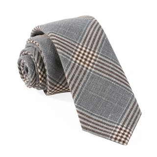Barberis Tempo Grey Tie