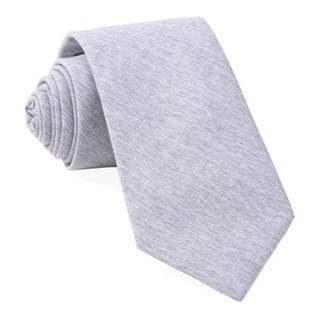 Sunset Solid Grey Tie