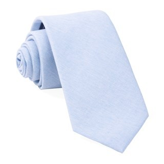 Sunset Solid Light Blue Tie