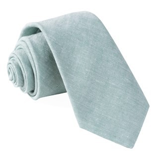 Solid Breeze Mint Tie