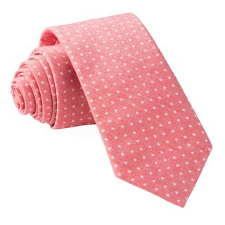 Summer Stars Red Tie
