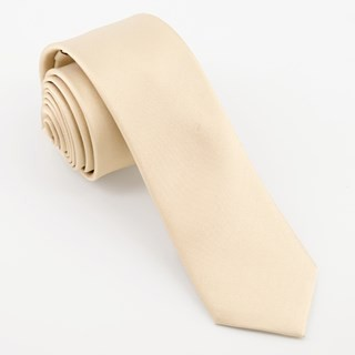 Mumu Weddings - Desert Solid Champagne Tie