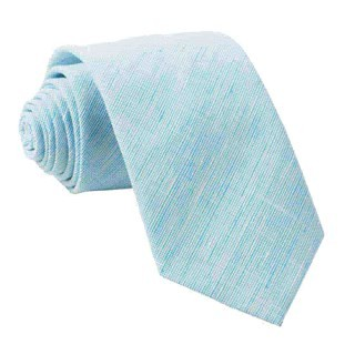 Serenity Solid Turquoise Tie
