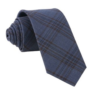 Harvest Glen Plaid Navy Tie