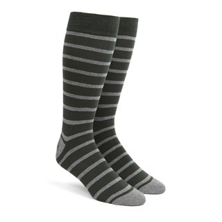Trad Stripe Hunter Dress Socks