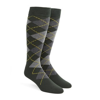 Argyle Hunter Dress Socks