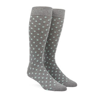 Circuit Dots Mint Dress Socks