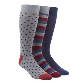 The Red Sock Pack Dress Socks
