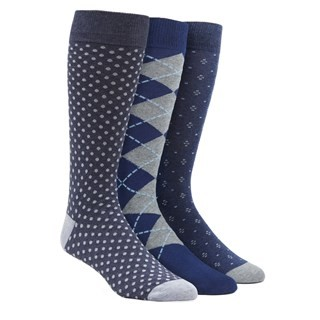 Classic Navy Sock Pack Dress Socks