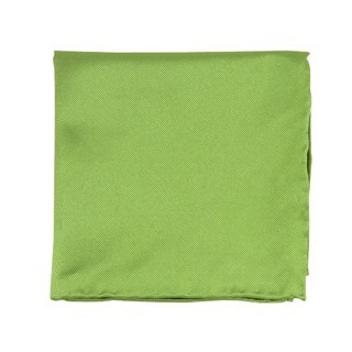 Solid Twill Apple Green Pocket Square