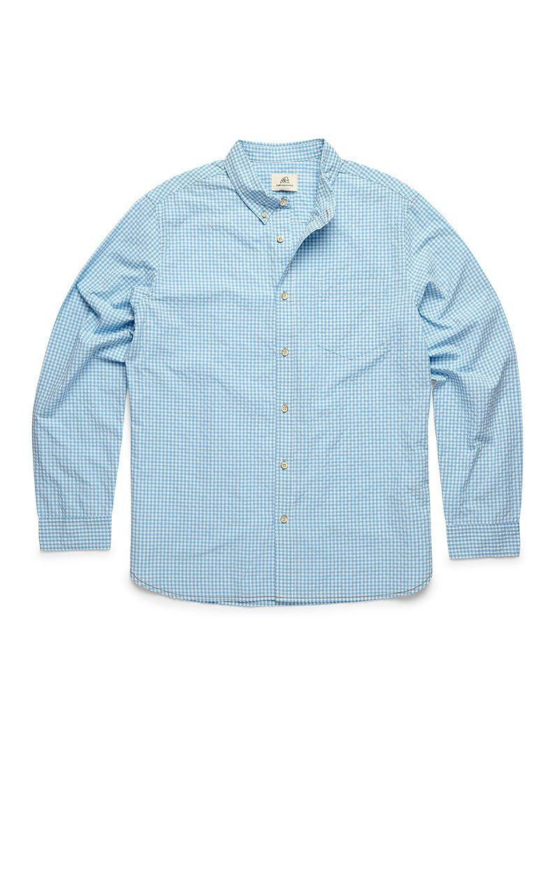 ETHEREAL BLUE GINGHAM