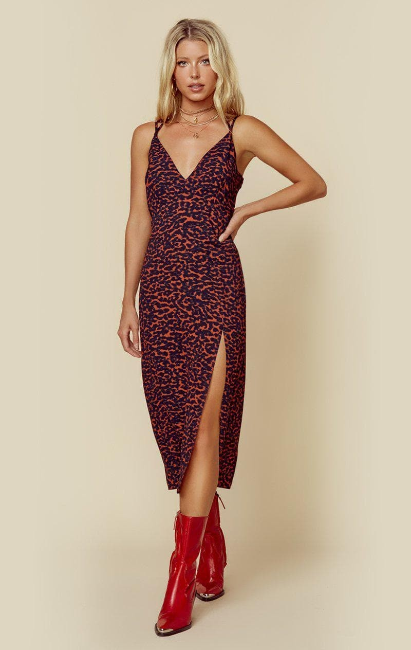 RISKY RED LEOPARD