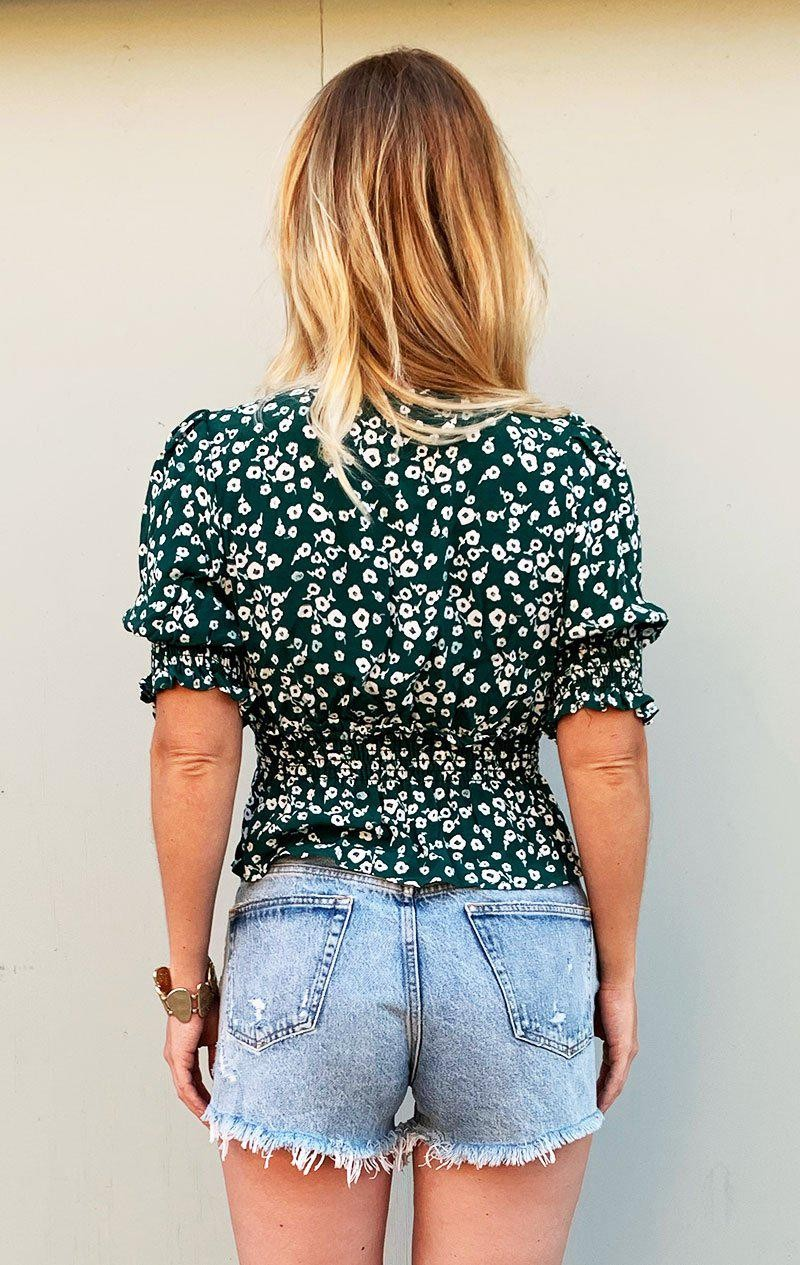 KELLY GREEN FLORAL