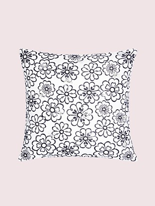 heart garden decorative pillow