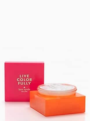 live colorfully body cream